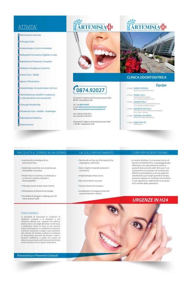 Brochure, Pieghevole, Cataloghi, Flyer, Volantini, Grafica Campboasso