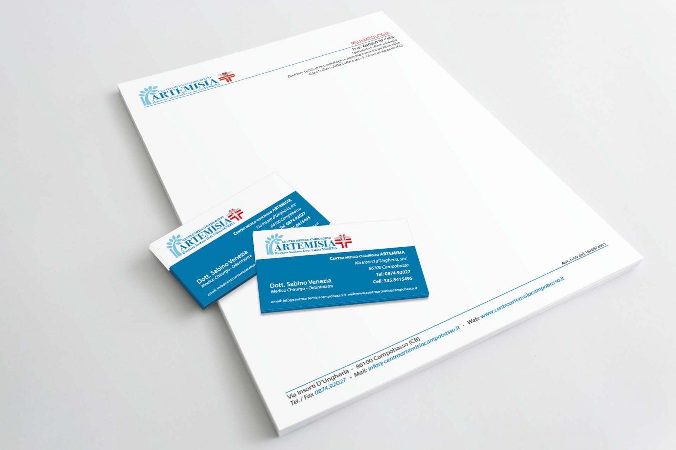 Carta Intestata, Biglietti da Visita, Brand, Logo, Pubblicità, Grafica Campobasso