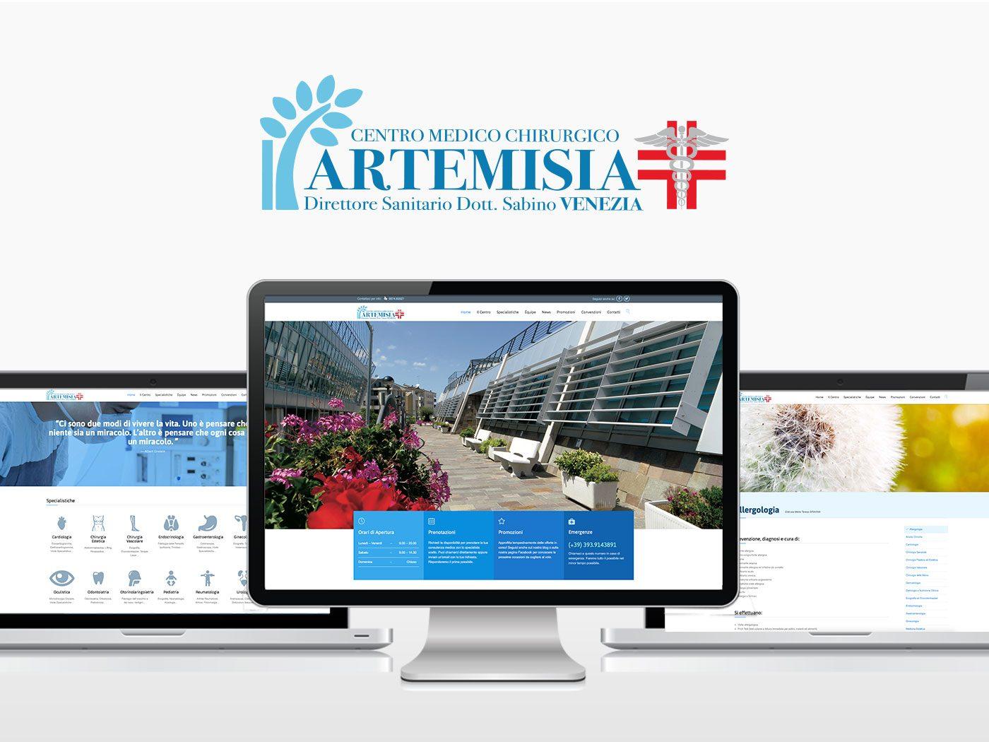 logo, sito web, branding, internet pubblicità artemisia