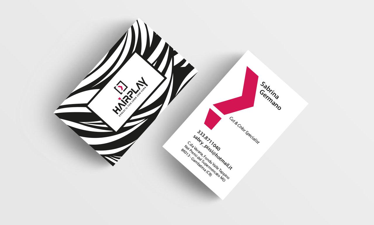 Biglietto da visita, Business Card, Logo, Brand, Marketing, Pubblicità Campobasso