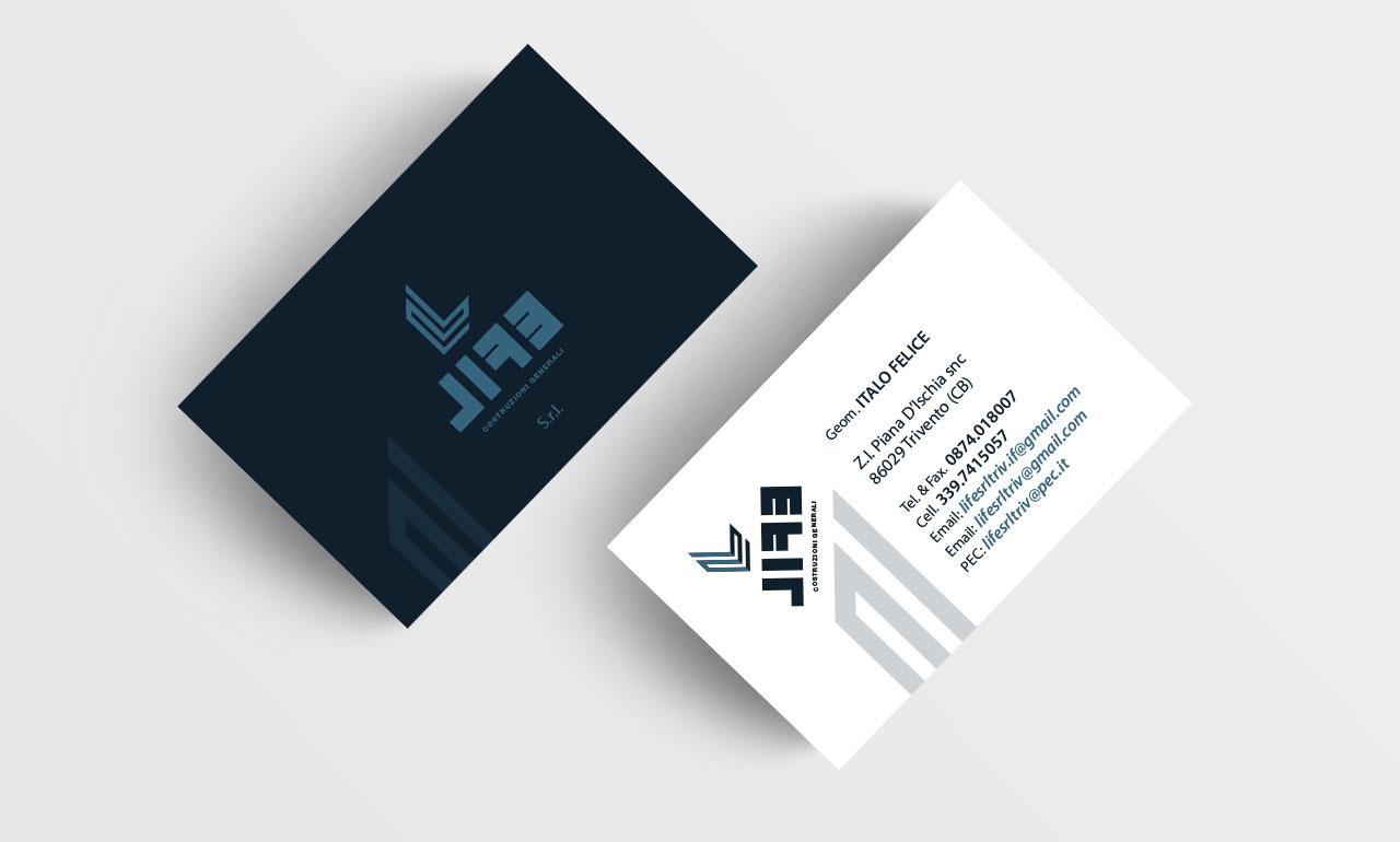 Biglietti da visita, Logo, Brand, Immagine Aziendale, Business Card, Pubblicità Marketing Campobasso