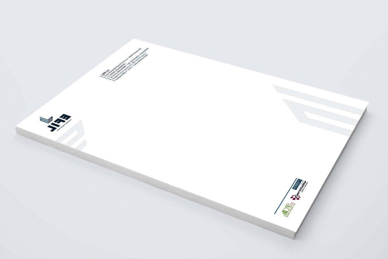 Carta intestata, logo, brand pubblicità marketing campobasso